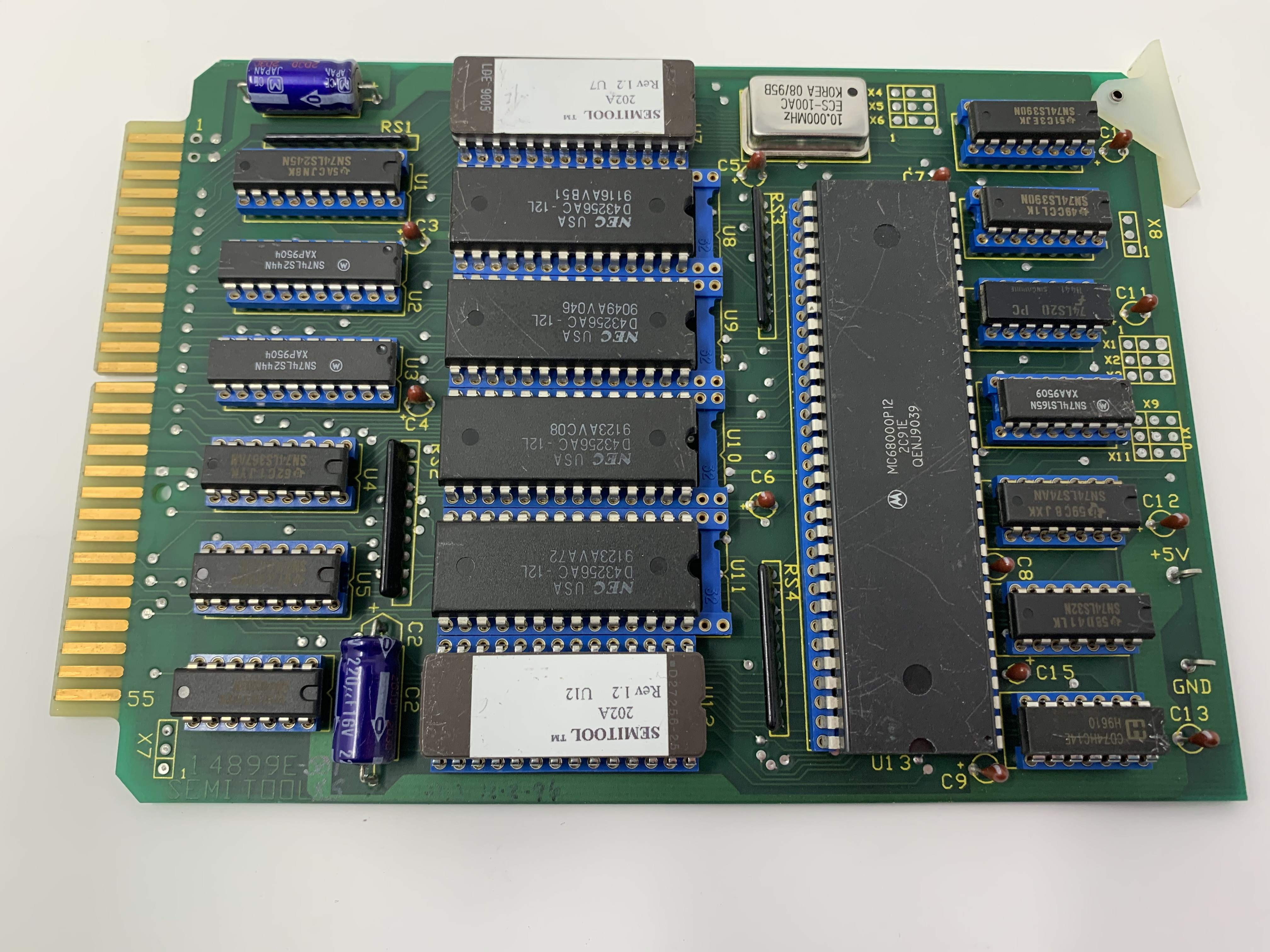 BRD ASSY CPU 68000 WST