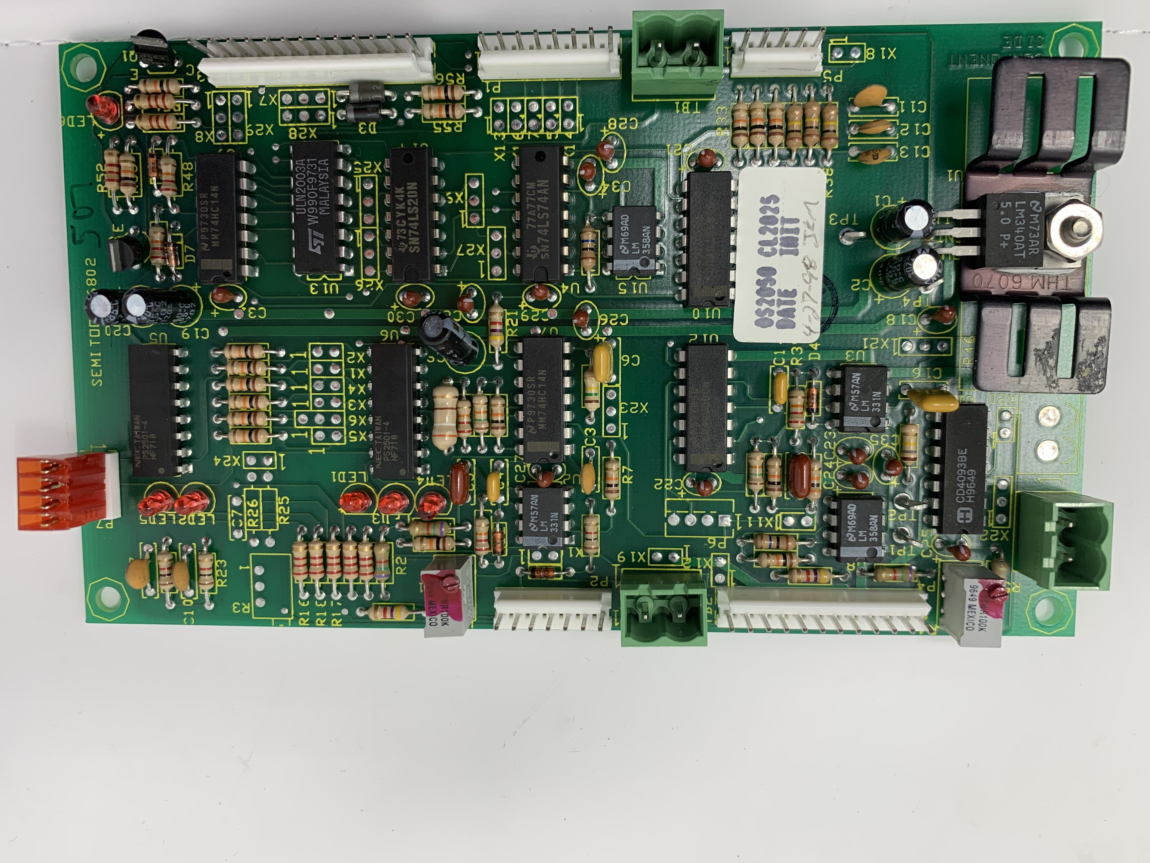 BRD ASSY SPEED LMTR SST (280/2300)